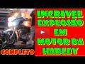 [PagueMenosCarro] -Acidente Explosão de Motor Moto Harley Davidson COMPLETO  - Full HD 2016