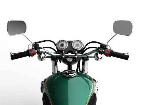 3D Model of Kawasaki W800 2014 Review