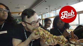Rub Dog Millionaire - National Hot Dog Day 2015