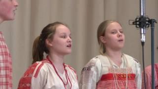 Детский фольклорный ансамбль ''Кладец'' - Вниз по матушке по Волге @ Библиотека ин. лит. 09.04.2017