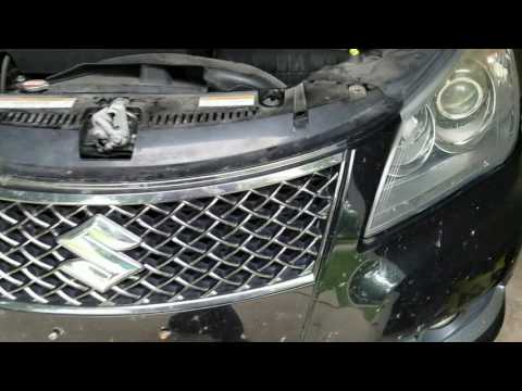 how to change rear brakelight bulb mercedez 350ml 2012