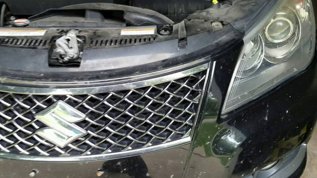 medium resolution of how to replace headlights in a suzuki kizashi youtubehow to replace headlights in a suzuki kizashi