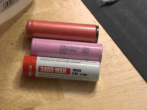 Protected Vs unprotected li-ion batteries