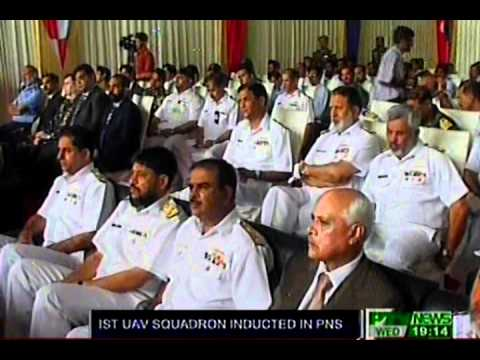 First squadron of Unmanned Aerial Vehicles (UAV) inducted in Pakistan Navy