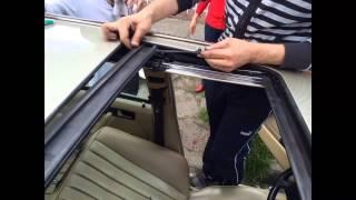 Reparacion Sunroof Quemacocos Mercedes Benz W124 W126 W201