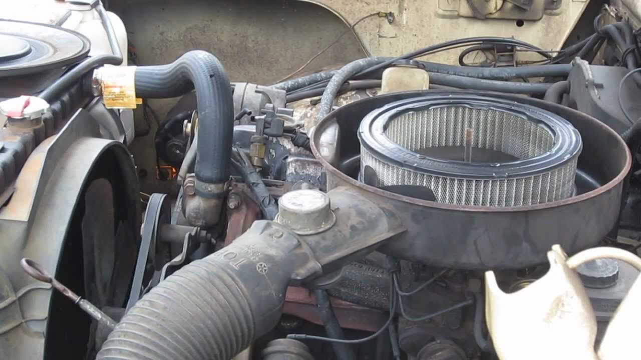 1985 Dodge Ram D100 Starting Troubles Youtube 1982 Ramcharger Wiring Diagram