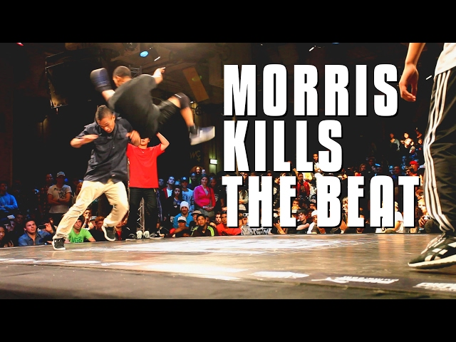 BBOY MORRIS KILLS THE BEAT || WORLD BBOY CLASSIC 2011