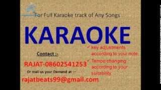 Naam Gum Jayega Cehra   Bhupendra Karaoke Track