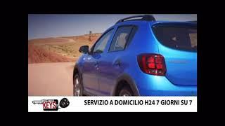Dacia Sandero, duplicazione chiave senza