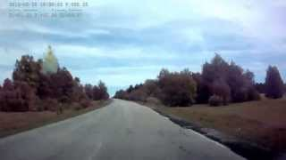 Дорога Тюльган - Зилаир, май 2013