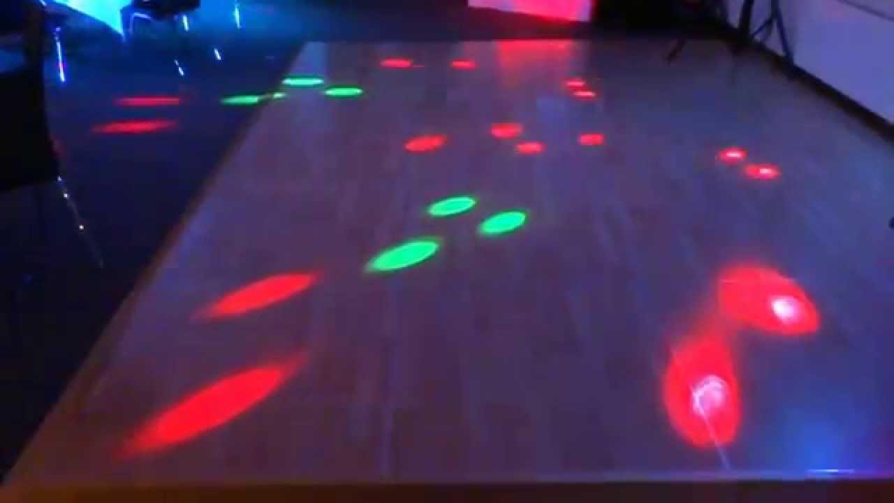 demo: ausleuchtung einer mittelgroßen tanzfläche - youtube