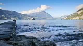 Timelapse on Lake Thunersee - Switzerland