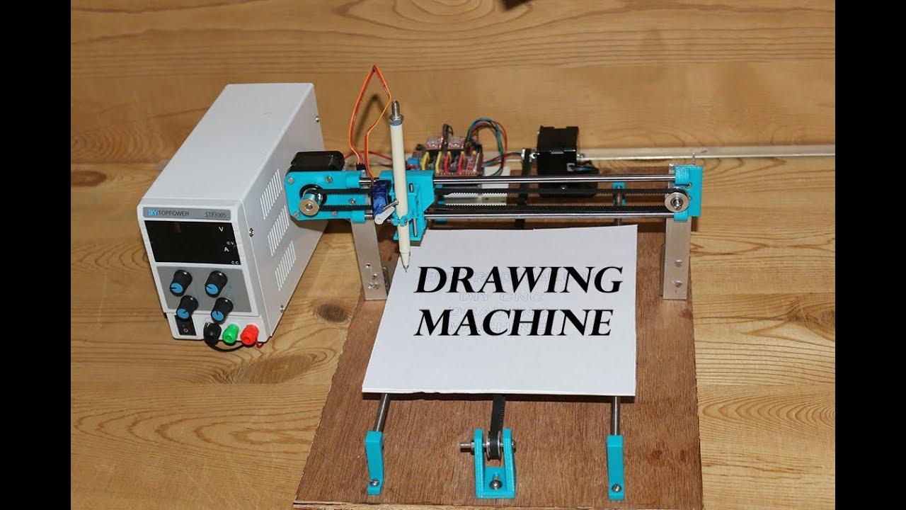 Diy Cnc Drawing Machine Grbl Based Cnc Machine