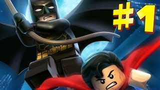 Lego Batman 2: DC Super Heroes - Walkthrough - Part 1 [HD] (X360/PS3/Wii/PC)