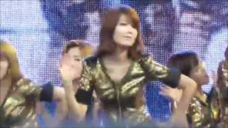 110417 SNSD HyoYeon Was Scare Too.....