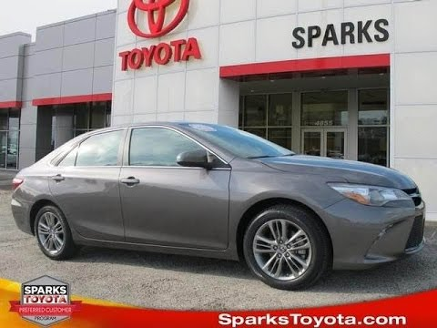 2016 Toyota Camry Se R1612 At Sparks Toyota Myrtle Beach Sc Youtube