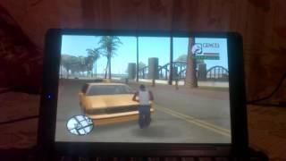 Планшет BRAVIS WXi89   тест игры Grand Theft Auto  San Andreas