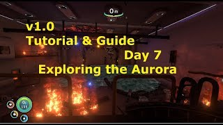 Gambar cover Subnautica v1.0 Tutorial Playthrough: Day 7 Exploring the Aurora