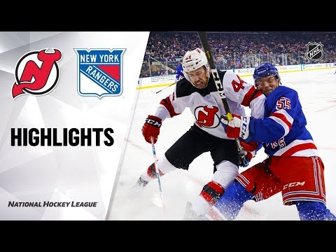 NHL Highlights | Devils @ Rangers 1/9/20