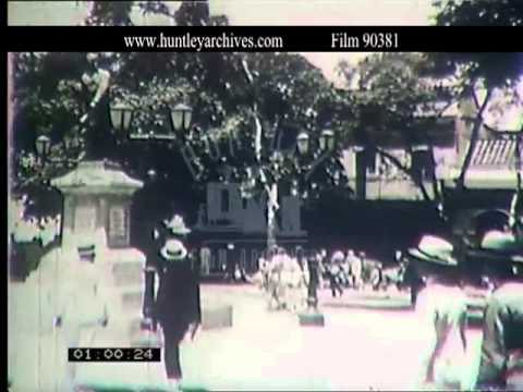 Caracas in Venezuala in the 1920's and 1930's -- Film 90381