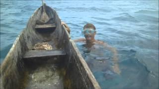 Погружение под воду без акваланга | Фридайвинг(Погружение под воду за добычей в виде морской тридакны. Восточная Индонезия. Взято из д/ф