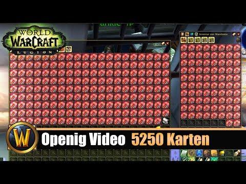 [WOW] Opening Video: 5250 Karten der Omen