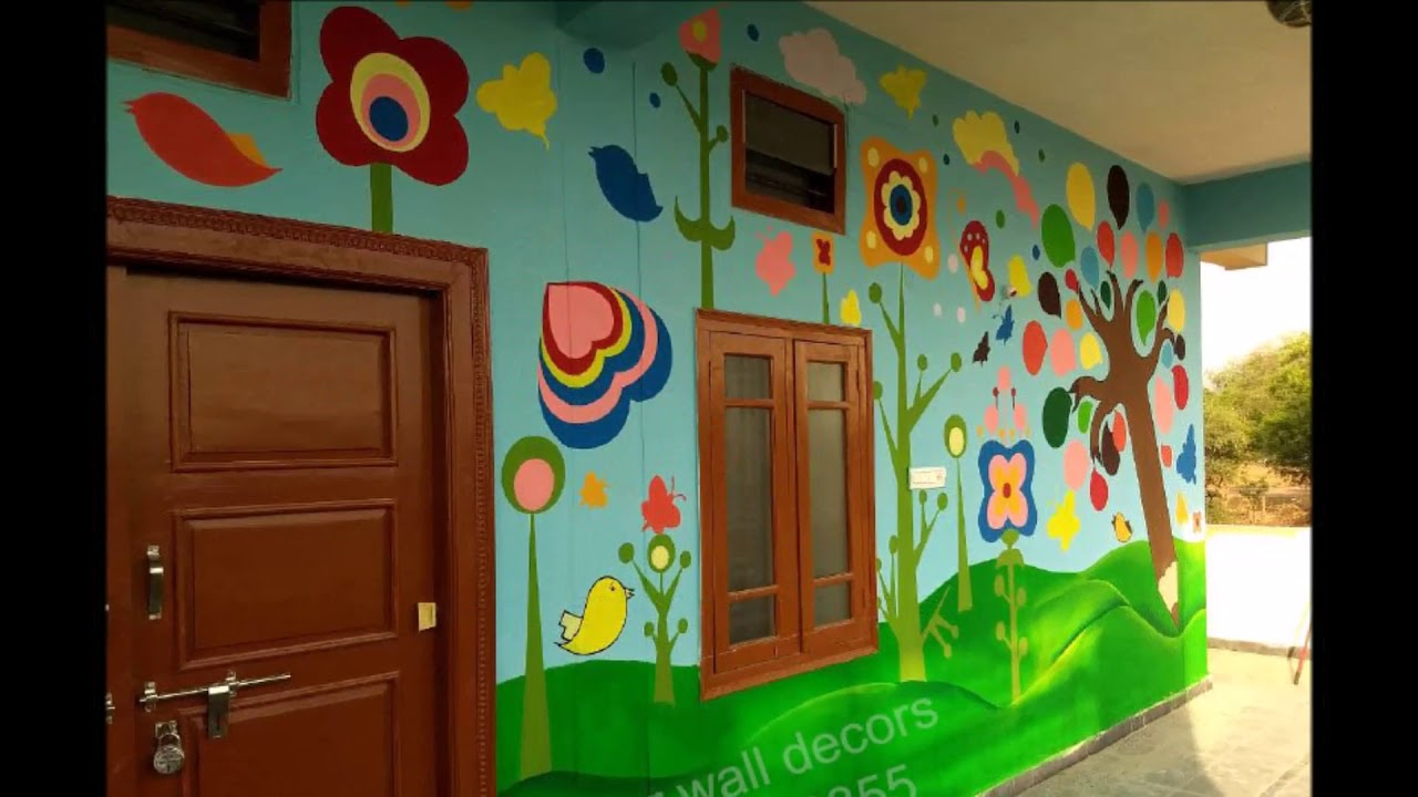 Play School Wall Painting 3d Wall Painting For Play School 3d