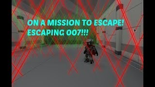 007 Walkthrough (Roblox Escape Room)