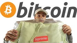 Selling my Supreme Box Logo Hoodie for Bitcoin!