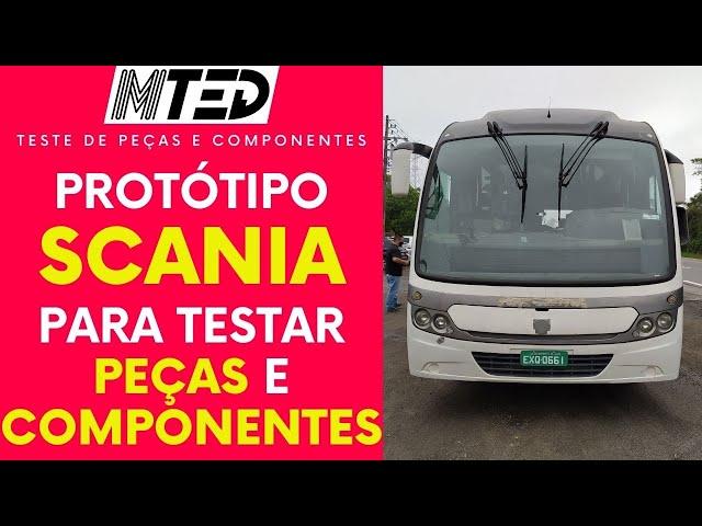 CURIOSIDADE: FLAGRAMOS UM PROTÓTIPO DE ÔNIBUS EM TESTE DA SCANIA - MTED