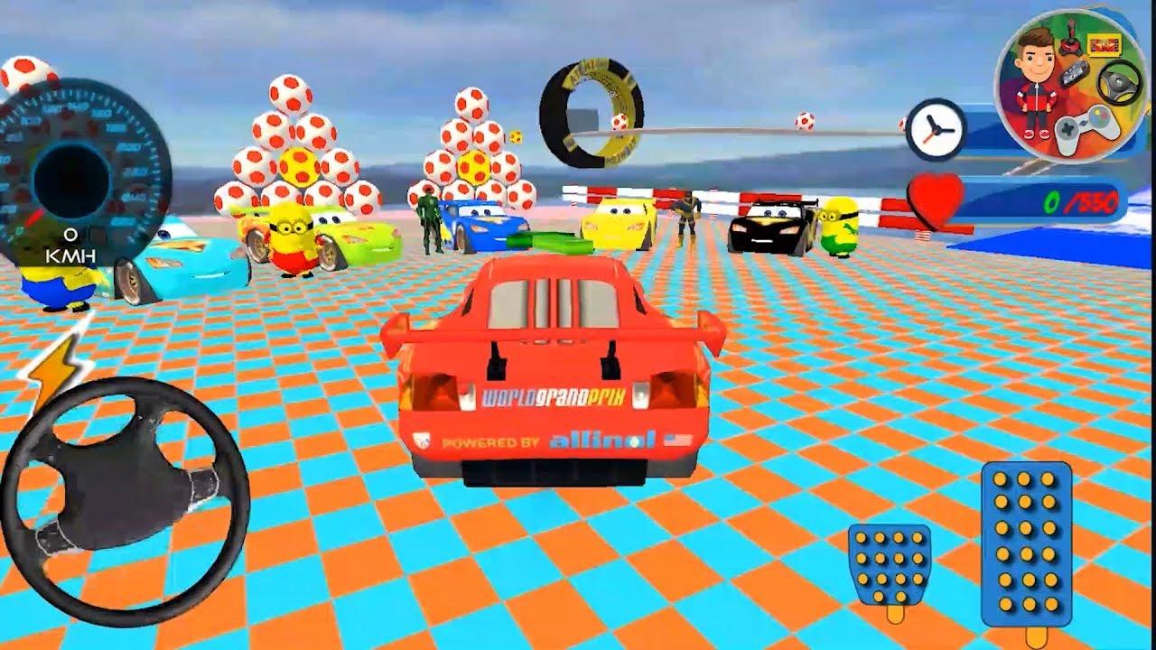 Superhero Fabulous Cars Simsek Mcqueen Color Games
