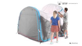 Designed for a family of 4 to 6 backpacking campers who need a conn...