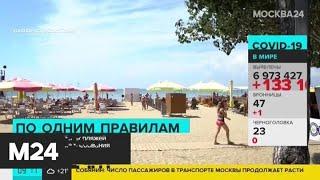 В России установят единые требования безопасности для пляжей - Москва 24