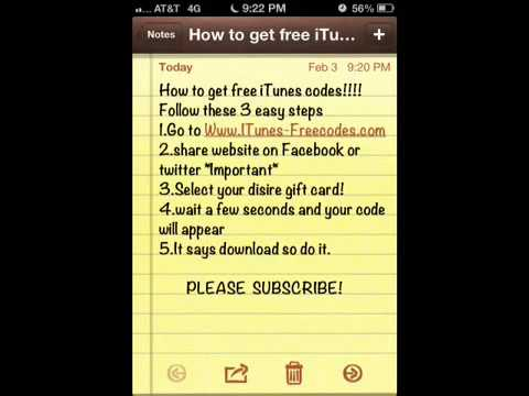 Itunes codes drtostt alaptvny all 5 tactics to get a outdated free itunes codes negle Gallery