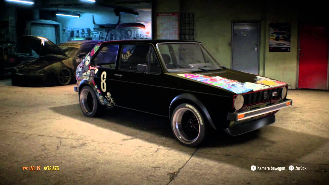 need for speed golf 1 gti youtube. Black Bedroom Furniture Sets. Home Design Ideas