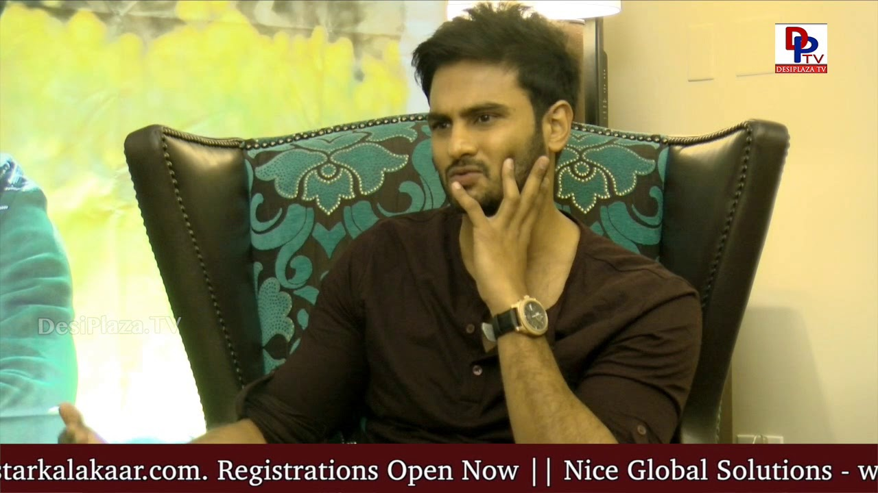 Actor Sudheer Babu Talks about Movie Teaser Sammohanam  to Desiplaza TV Host Ananth