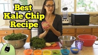 Best Kale Chip Recipe In The Vitamix & Dehydrator