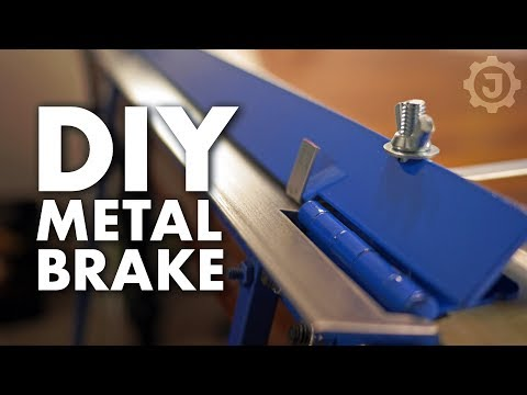 DIY Sheet Metal Bending Brake: No Welding