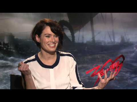 300: Rise Of An Empire: Lena Headey Official Movie Interview