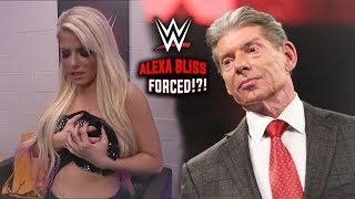 Alexa Bliss FORCED To Agree To Backstage Changing Segment?!? (WWE Fans React) - WWE RAW