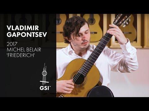 Scarlatti Sonata K.209 -  Vladimir Gapontsev plays Belair 'Friederich'