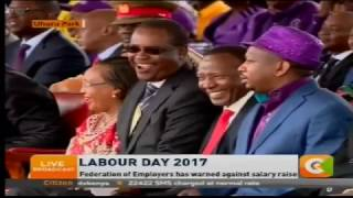 Sonko steals the show at Labour Day celebrations
