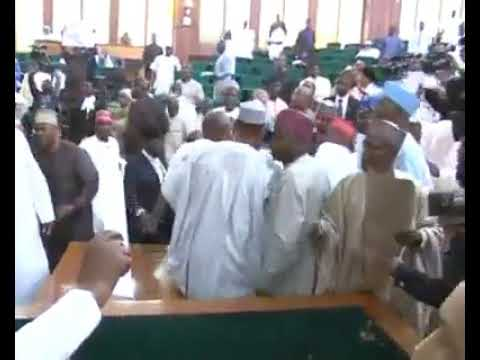 Nigeria National Assembly At War.