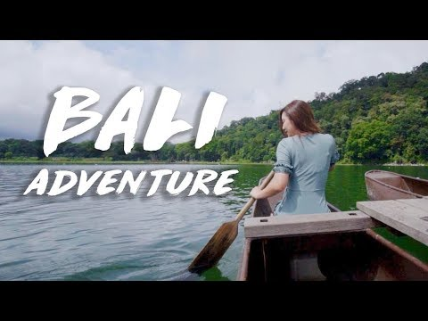 Jumped off a cliff - MY BALI ADVENTURES