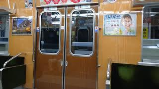 北大阪急行8000形8006Fドア開閉 桃山台駅