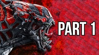 Evolve Gameplay Walkthrough - Part 1 Big Alpha - MONSTER NAIL BITER!! (XB1/PS4/PC 1080p HD)
