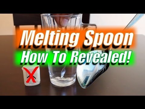 Gallium Disappearing Spoon Trick - How to Revealed!