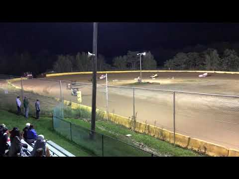 RJ Sherman Racing #22R Last race of the season at Hamlin Speedway 9/22/18
