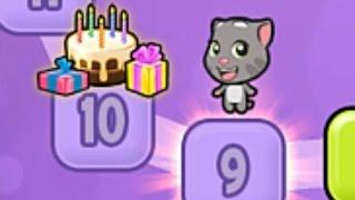 Мультик по игре Мой Говорящий Кот Том #5 Перестановка в Гостинной новый уровень, играем в Соединения