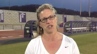 2016 JMU Lacrosse - Klaes-Bawcombe Penn State Postgame - 3/9/16
